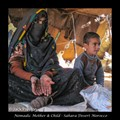 Nomadic Mother and Child Morocco