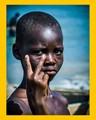 Child in Jamestown, Accra