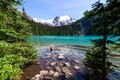 The Beautiful Joffre Lake near Pemberton, British Columbia
