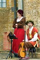 Elizabethan Musicians At Montacute House