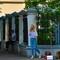 Street singer, evening in Poltava