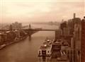 NYC Skyline-sepia