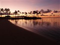 Beach on Oahu at Sunrise