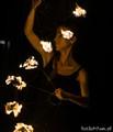 Czupakabra's fire dancer