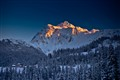 Mt Shuksan in Sunset Glow