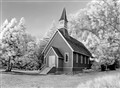 Chapel at Yosemite Valley, Infrared B&W