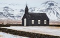 iceland's budir black church