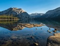 Tenaya Lake, Sunrise in Yosemite