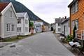 Deserted Street in Laerdal, Norway