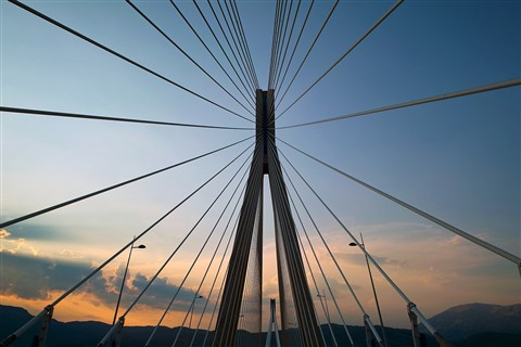 Passing Rio - Antirio Bridge