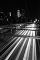 DSC_6541...the light trails under Brooklyn bridge/nyc...