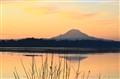 Mr Rainier Sunrise on Dyes Inlet