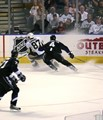 Sidney Crosby with the Puck