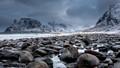 Uttakleiv Beach - Lofoten Norway