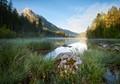 Morning light at Lake Hintersee