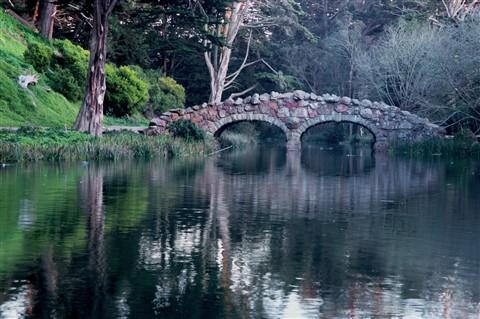 Stone Bridge at Stow Lake,4