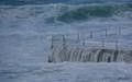 windy day at Bondi Beach