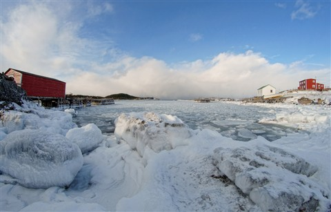 Fogo Island Freeze-Up!