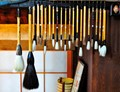 traditional japanese brushes from Nara