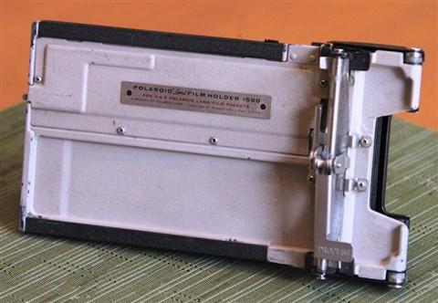 Polaroid Film Holder back
