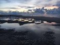 seashore sunset - the Netherlands