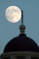 Moon rise over Loreto Chapel