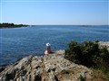 She Waits by the Sea, Lands End, Maine