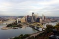 Pittsburgh downtown, from Mt. Washington