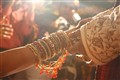 INDIAN MARRIAGE - Groom holding hand of bride
