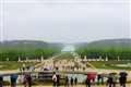 versailles in the rain
