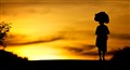 Alone at sunset...