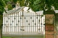Fence at Balgownie Mansion House