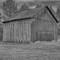 Gray Barn B&W this
