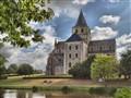 Abbaye Saint Vigor Frannce hdr