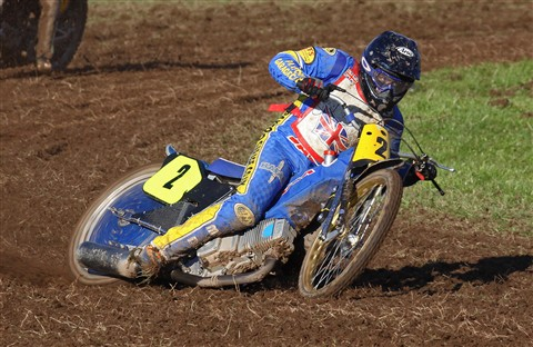 Eyes on the prize - winning at grasstrack racing