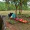 Emergency stretcher, in case the worst happens R1009150 Plain of Jars UXO