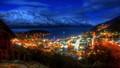 Queenstown, NZ  by night