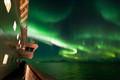 Polar lights, seen from M/S Nordnorge
