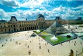 The Louvre From Above