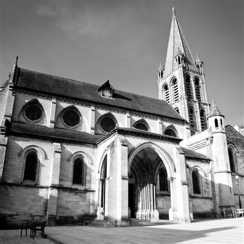 The Church of Bougival