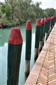 Canal Posts on the island of Torcello