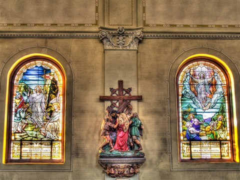 HDR Stain Glass