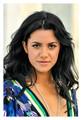 lovely hispanic lady with black hair