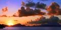 Nevis at sunrise