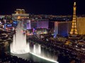 Bellagio fountains from Cosmopolitan