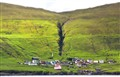 Little town on the Faroe Islands