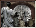 Praying before deity