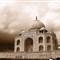 Cloudy Taj