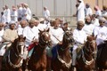 Traditional Omani horse race