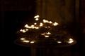 Altar candles in Notre-Dame-de-Paris